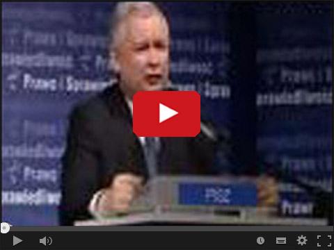 Kaczyński popiera Platformę
