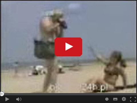 Kamera ukryta na plaży