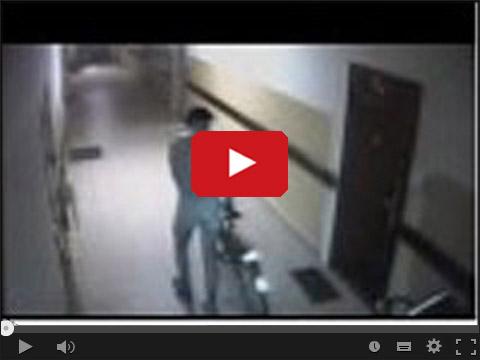 Ukradł rower w majtkach