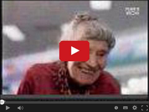 Skrzypiąca babcia