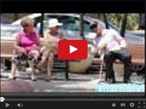 Podrywają przebrani za dziadka
