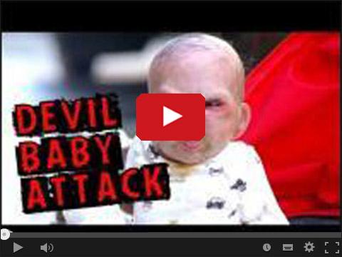 Dziecko diabeł atakuje