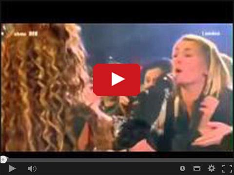Dała jej zaśpiewać refren