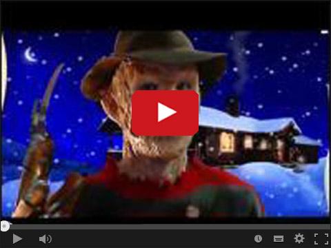 Freddy Krueger życzy Wesołych Świąt