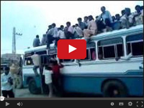 Autobusy w Indii