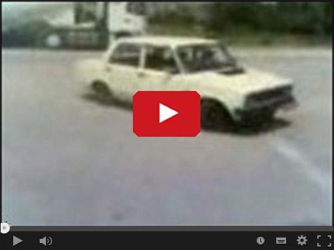 Fiat to czy Łada drifting