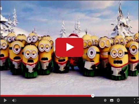 Minionki śpiewają świąteczne kolędy