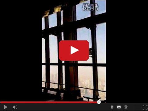 Mycie okien w drapaczu chmur