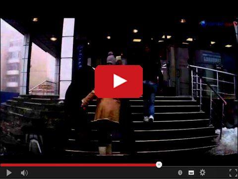 Sposób na lód na schodach