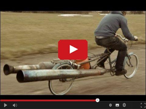 Odrzutowy rower
