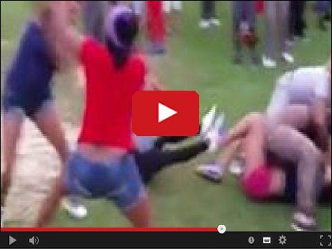 Ustawka - Dziewczyny umówiły się aby potańczyć?