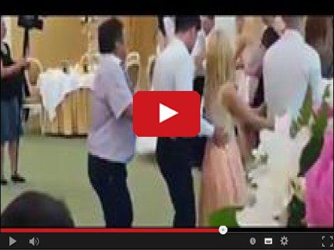 Napalony tancerz weselny