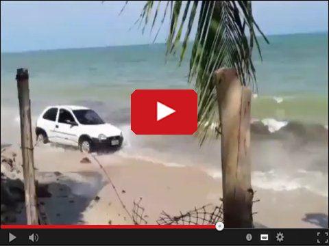Wycieczka Oplem po plaży