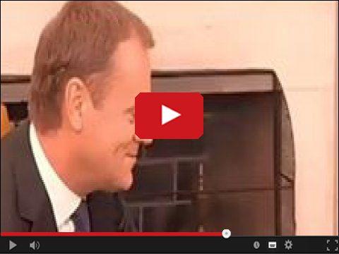 Donald Tusk przed objęciem posady szefa Unii Europejskiej