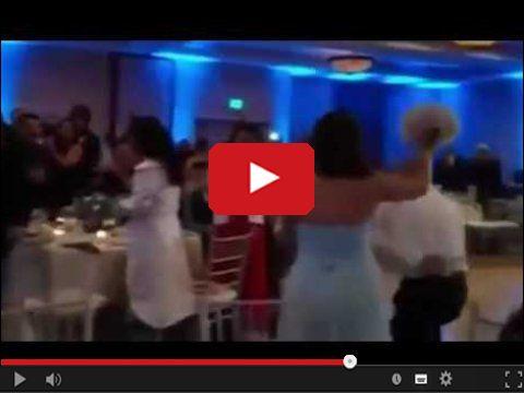 Tego tańca weselnego nie zapomnie
