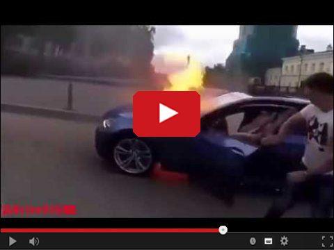 Płonące BMW czyli Będziesz Miał Wydatki