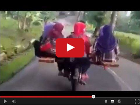 Ile osób zmieści się jednocześnie na motocyklu?