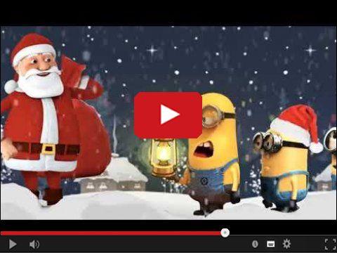Święty Mikołaj i Minionki