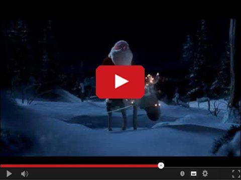 Święty Mikołaj lekko nawalony