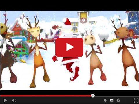 Szalony taniec Mikołaja i jego reniferów