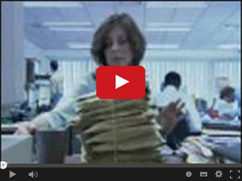 Niebezpieczeństwa pracy w biurze