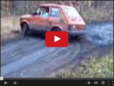 Maluch drift leśny racer