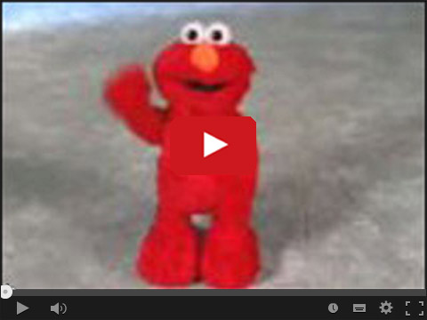 Elmo - super wesoła zabawka
