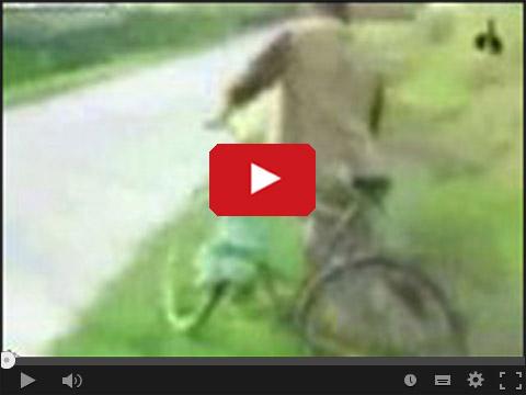 Pijany rowerzysta