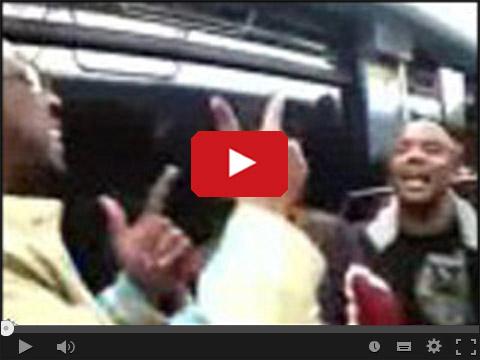 Koncert Sauvage Dans w metrze