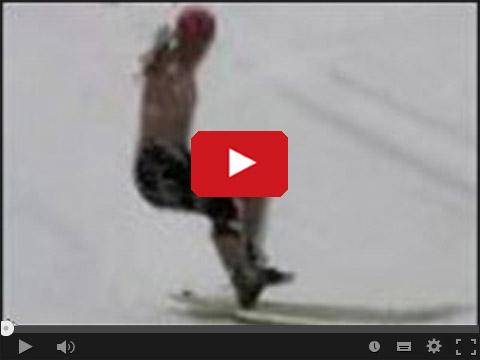 Jackass - Surfing na śniegu