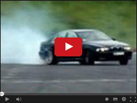 BMW Drift czyli katowanie bemki