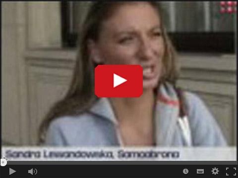 Sandra Lewandowska chciała potańczyć