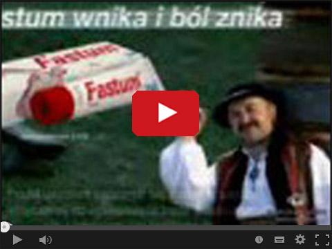 Parodia reklamy Fastum